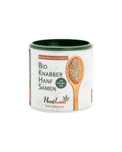 Bio Knabberhanfsamen mit Kräutersalz 125g