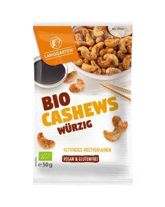 Bio Cashews Würzig 50g