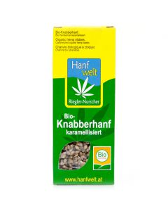 Bio-Knabberhanf karamellisiert 75g