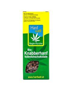 Bio-Knabberhanf Vollmilchschokolade 75g