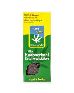 Bio-Knabberhanf Zartbitterschokolade 75g