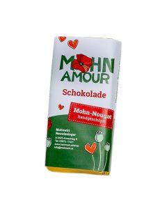 Mohn-Nougatschokolade 65g