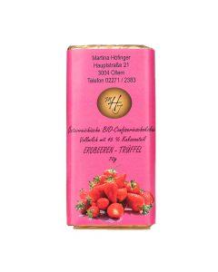 Schokolade Erdbeer-Trüffel 70g