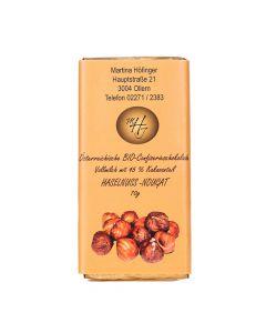 Schokolade Haselnuss-Nougat 70g