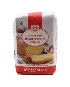 Weizen Mehl W 480 griffig 1kg