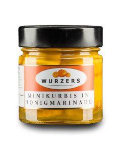 Wurzers Minikürbis in Honigmarinade 210g