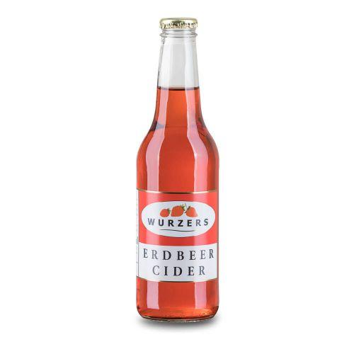 Wurzers Erdbeer Cider 330ml
